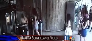 MARTA surveillance video