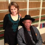 Photo of Susan Puckett and Morgan Freeman