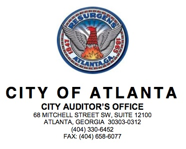 The city auditor found that indications of fraud and/or abuse in the city's workforce training program and forwarded them to the federal Department of Labor.