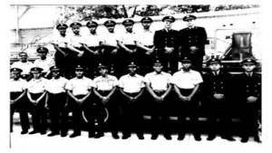 Atlanta's first African American firefighters started work April 1, 1963 at Fire Station 16. The station was on Marietta Street at the time, and later was moved to a new facility built along the former Simpson Road, now Joseph E. Boone Boulevard. Credit: City of Atlanta
