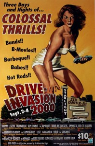 Drive Invasion movie poster
