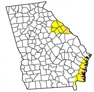 More than 92 percent of Georgia is free of any drought condition, as of April 23. Credit: U.S. Drought Monitor