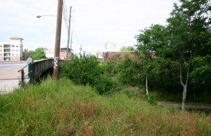 The Edgewood Avenue bridge over the Atlanta BeltLine is being replaced with one that will improve access to the Eastside Trail. Credit: BeltLine.org