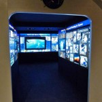 "Photo of an interactive exhibit, ""Destination (Space) Station,"" at the Fernbank Science Center until May 18. NASA uses this exhibit to promote space travel and science learning."