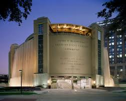 Texas Medical Center gets most of its revenue from parking. One of the most beautiful parking garages in the world is the Commons building adorned by roof to ground fountains (Photo: Texas Medical Center)
