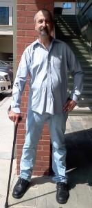 Photo of Robert Berry in July 2012.