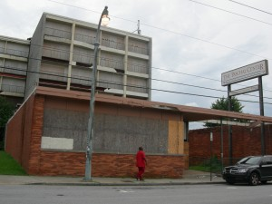 The now closed Paschal's Motor Lodge and Restaurant