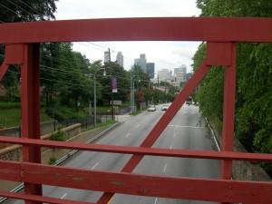 Bridge over Martin Luther King Jr. Drive