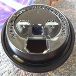 Photo of smiley coffee cup from McDonald's