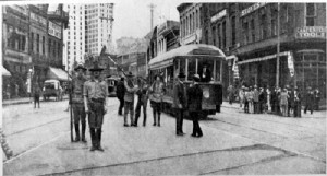 During the 1906 Atlanta race riot, the city came under the control of the state militia.