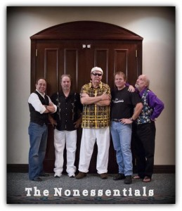 Photo of The Nonessentials, a blues band formed by government workers during the 1995 shutdown.