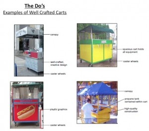 Atlanta envisions vending carts like these, which are used in Portland, to be on Atlanta streets within a few months. Credit: City of Atlanta