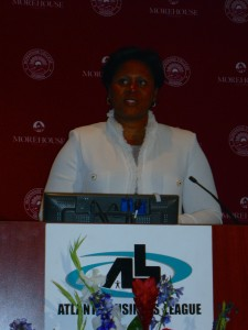 Rev. Yvette Massey at recent Atlanta Business League event
