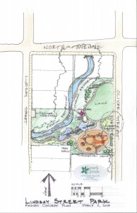 Map of how the park will look when finished (Courtesy of the Conservation Fund)