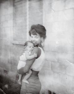 The poet with her mother, Gwendolyn Grimmette Trethewey, in Gulfport circa 1967. Credit: Virginia Quarterly Review (Natasha Trethewey)