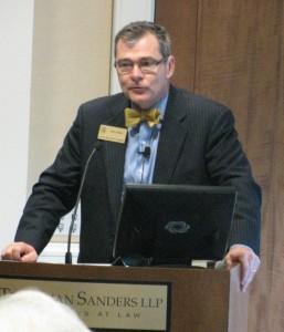 PSC Commissioner Tim Echols convened a seminar on child trafficking. Credit: Bill Edge, PSC