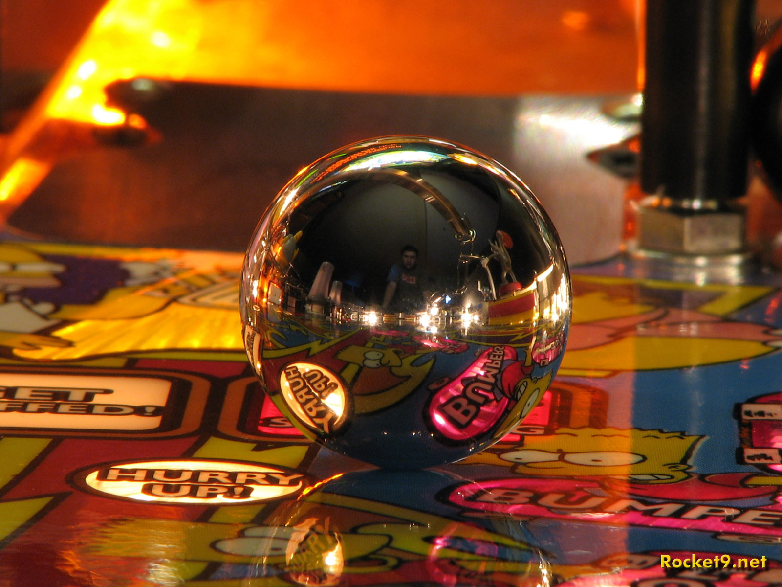 pinball in motion