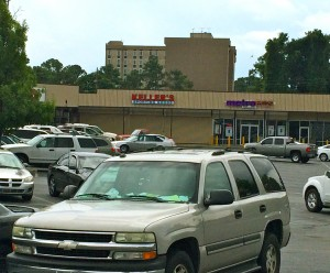 Campbellton Plaza is a busy retail center located midway between Fort McPherson and I-285. Credit: Donita Pendered