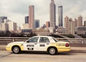 Atlanta's Checker Cab company provides more than 200 taxi vehicles, according to its website. Credit: atlantacheckercab.com