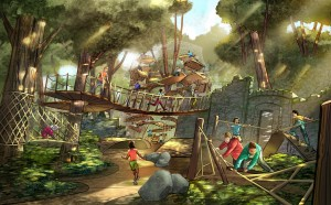 Adventure outpost for young explorers