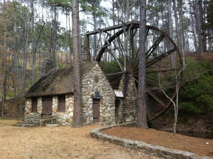 The old mill at Berry College. Credit: GeorgiaStew.wordpress.com