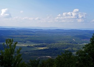 The ridge and valley region of Georgia. Credit: DanielMetrio18.weebly.com