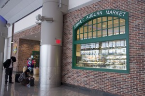 Atlanta Airport International Terminal Only Vendor in Atrium