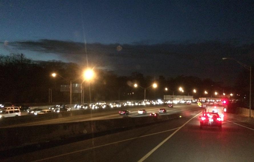 Atlanta traffic, 2014