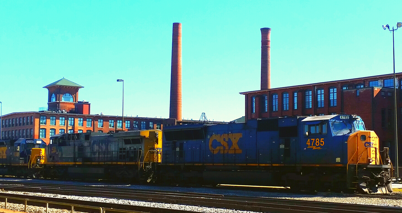 CSX and Cabbagetown