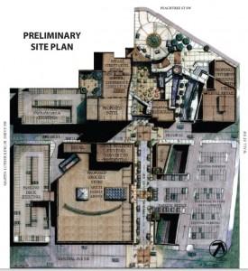 Underground Atlanta site plan