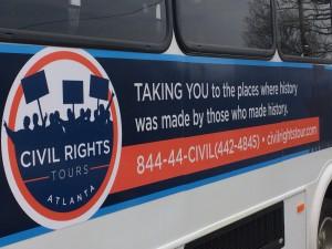civil rights tour bus