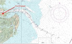 Savannah harbor deepening map