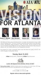 Vision for Atlanta 2015 Forum flyer