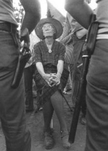 Catholic Worker Movement cofounder Dorothy Day helps defend Koinonia Farm, the racially integrated Christian community in Americus.