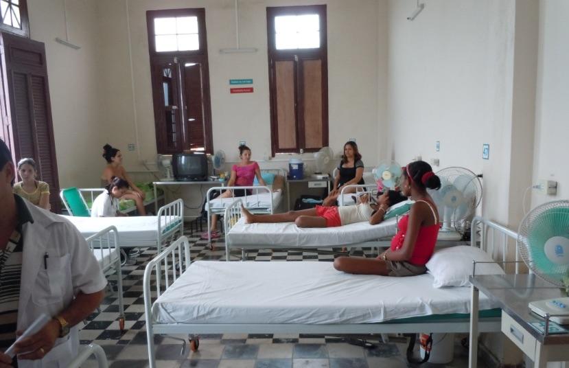 Cuban maternity ward