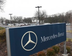 Mercedes Benz site in New Jersey