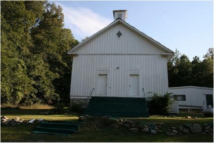 Built in 1870, the Chubb Chapel United Methodist Church still serves the Chubbtown community near Rome, Georgia.