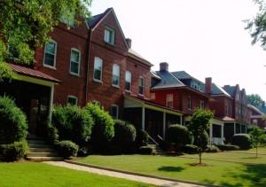 Fort McPherson's Staff Row