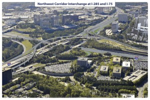 Northwest Corridor, Rendering, I-285:I-75 copy