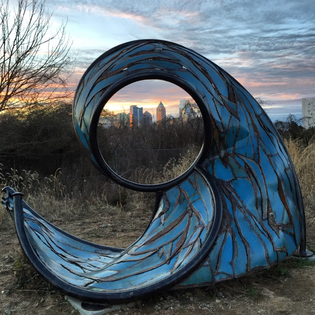 Eye of the storm - from the Beltline by Lexi Severini