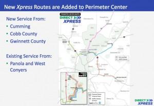 GRTA service to Perimeter Center
