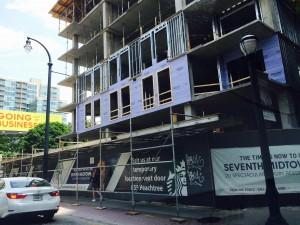 Peachtree Street construction