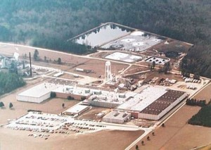 King America Finishing entered a consent degree that compelled it to pay $1.3 million. The plant was not responsible for a 38,000 fish kill on the Ogeechee River, but the state did determine the company had illegally released chemicals into the waterway. Credit: King America Finishing