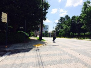 MLK sidewalks