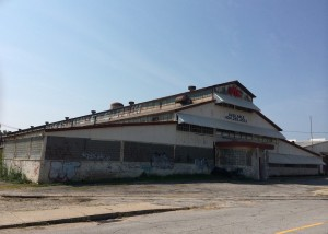 Vacant building
