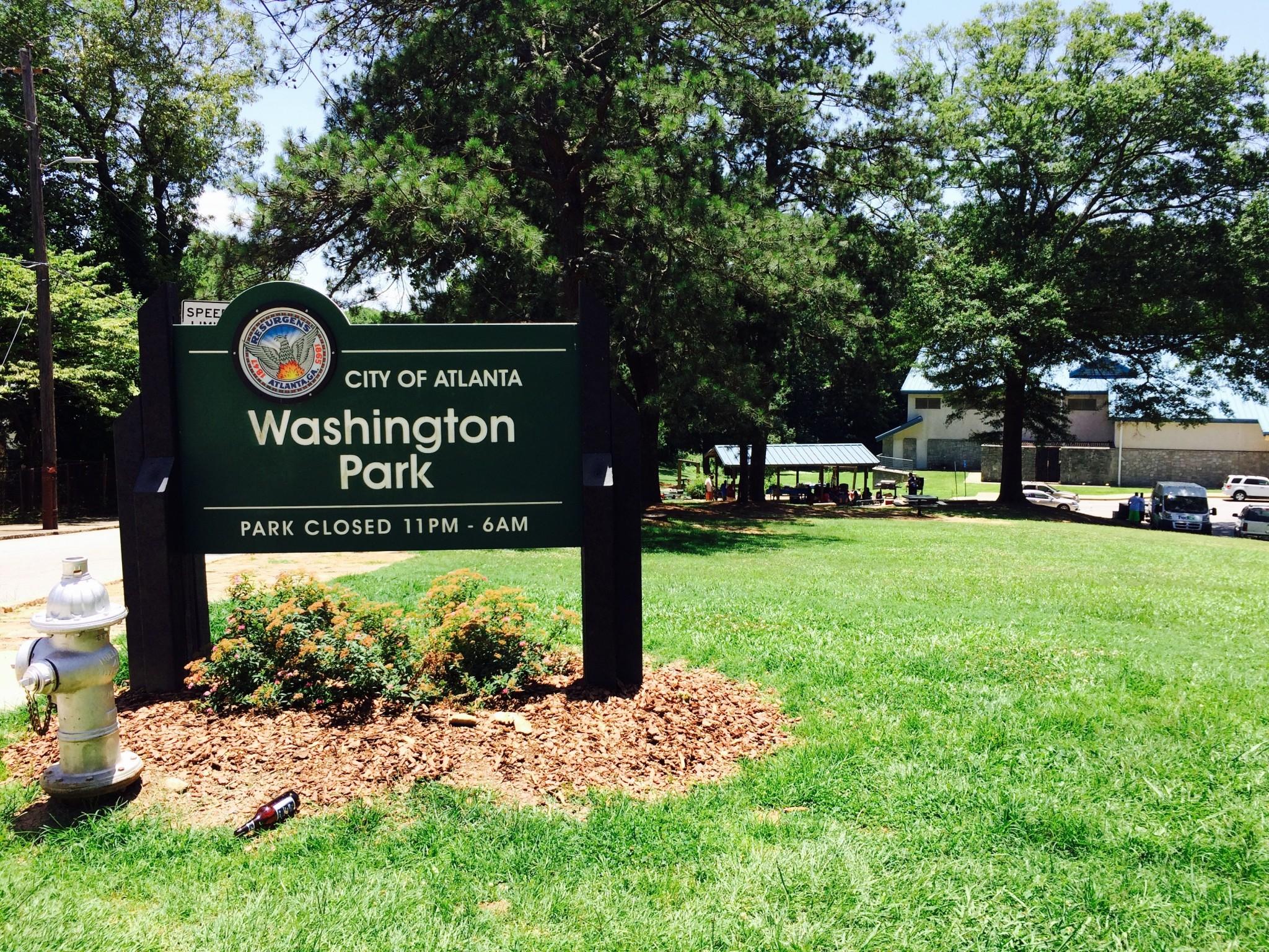 Washington Park monument