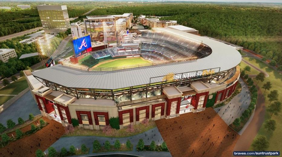 Atlanta Braves, SunTrust Park