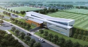 Atlanta United soccer training facility