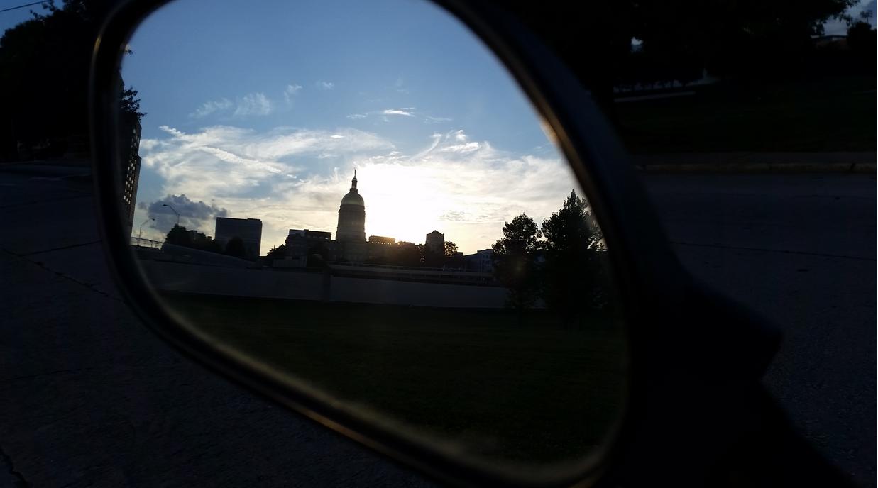 Rearview View by Beth Keller