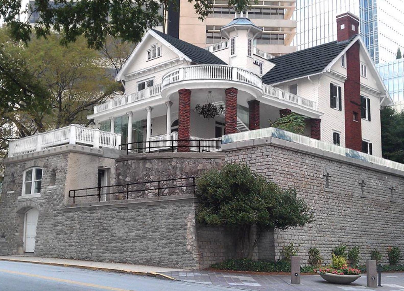 The Castle, exterior